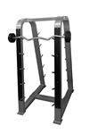 Muscle-D 10 Bar Barbell Rack