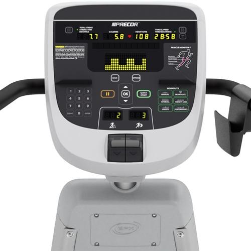 Precor Efx 833 Elliptical Adjustable Incline Gymstore Com