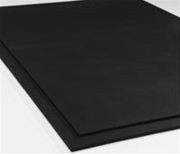 Heavy Duty Commercial Rubber Floor Mat - 4' x 6' x 3/8""