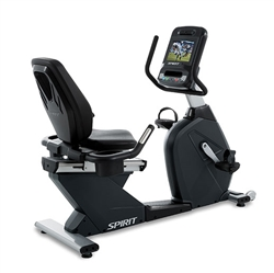 Spirit Fitness CR900ENT Recumbent Bike w/ TV & Internet