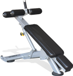 Spirit Fitness Adjustable Decline Sit-up Bench