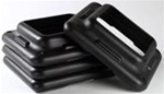 The Step Riser Add On Pack (2 Risers) - Black