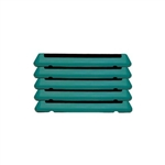 The Original Step Platforms (5 pack) Teal