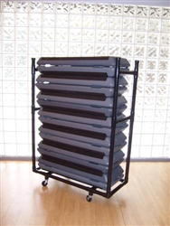 The Step Platform Rack (black)