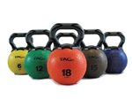 TAG Ball Rubber Kettleball 6 lbs to 35 lbs