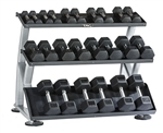 TAG 3 Tier Horizontal Dumbbell Rack RCK-HDR