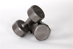 Troy Barbell VTX 12 Sided Solid Dumbbell Set - 5-50 Lb Set