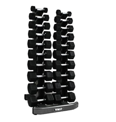 TKO 10 Pair Vertical Dumbbell Rack