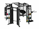 TKO Group Training Rig Stretching + Boxing + Rebounder + Cables