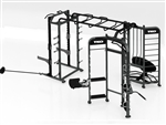 TKO Group Training Rig Stretching + Rebounder + Power Station