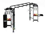 TKO Group Training Rig Stretching + Boxing