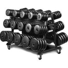 York 800 LB Aerobic Weight Set Club Pack