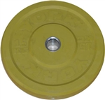 York-15kg-Bumper-Plate-Yellow