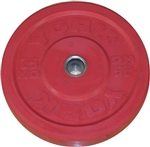 York 155 kg. Solid Colored Rubber Training Bumper Set
