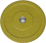 York 25 lb. Bumper Plate - Yellow