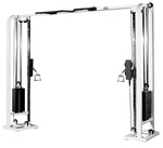 Free Standing Selectorized Cable Crossover (White)