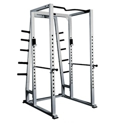 York Power Rack Full Cage with storage