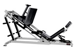 york barbell 35 Degree Leg Press plate loaded