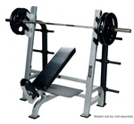 Olympic Incline Bench With Gun Racks