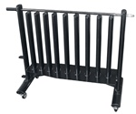 "York ""Neo-Hex"" Fitbell Rack With Security Bar"