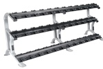 York ETS 3-Tier Pro Style Dumbbell Saddle Rack