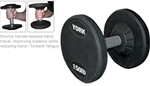 York 105-125 Lb. Pro Style Dumbbell Set - Solid Steel Handle