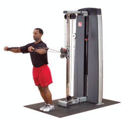 Body Solid Pro Dual Cable Column Combo Machine